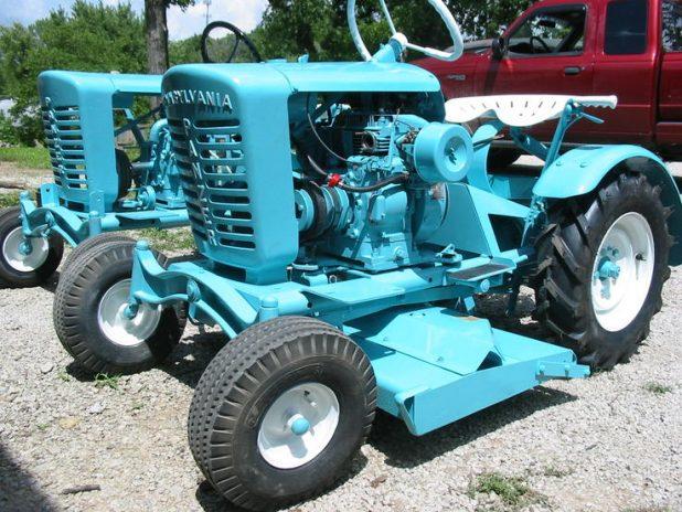 Turquoise Tractor   CreativeCainCabin.com