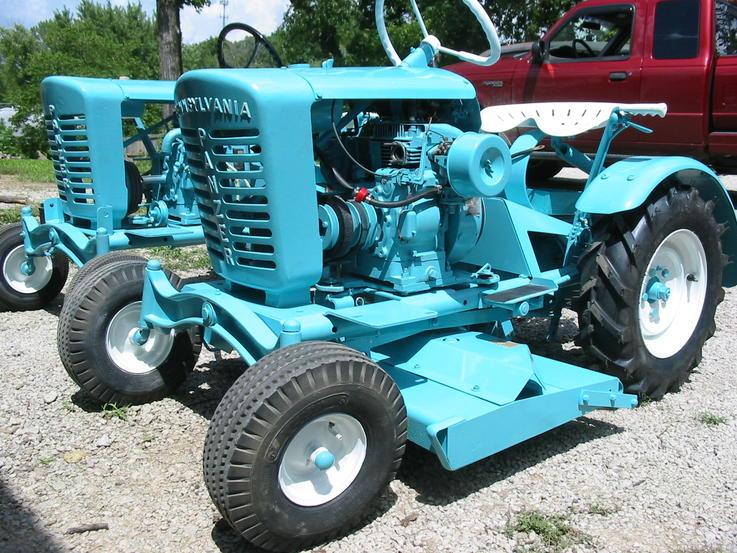 Turquoise Tractor | CreativeCainCabin.com
