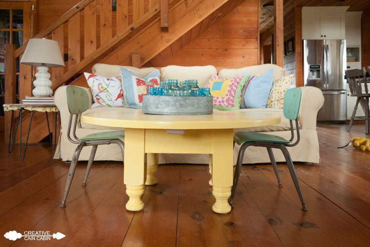 Yellow Paint Color | Soft Duckling | CreativeCainCabin.com