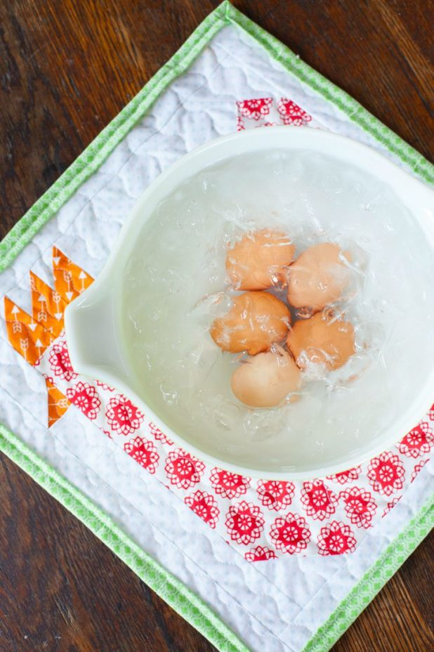 How to Hard Boil a Farm Fresh Egg and Have it Peel Every Time. I have tried every method out there, and this works perfectly every time with straight out the chicken eggs. No leaving the in the refrigerator to get weeks old before having an egg that will peel.