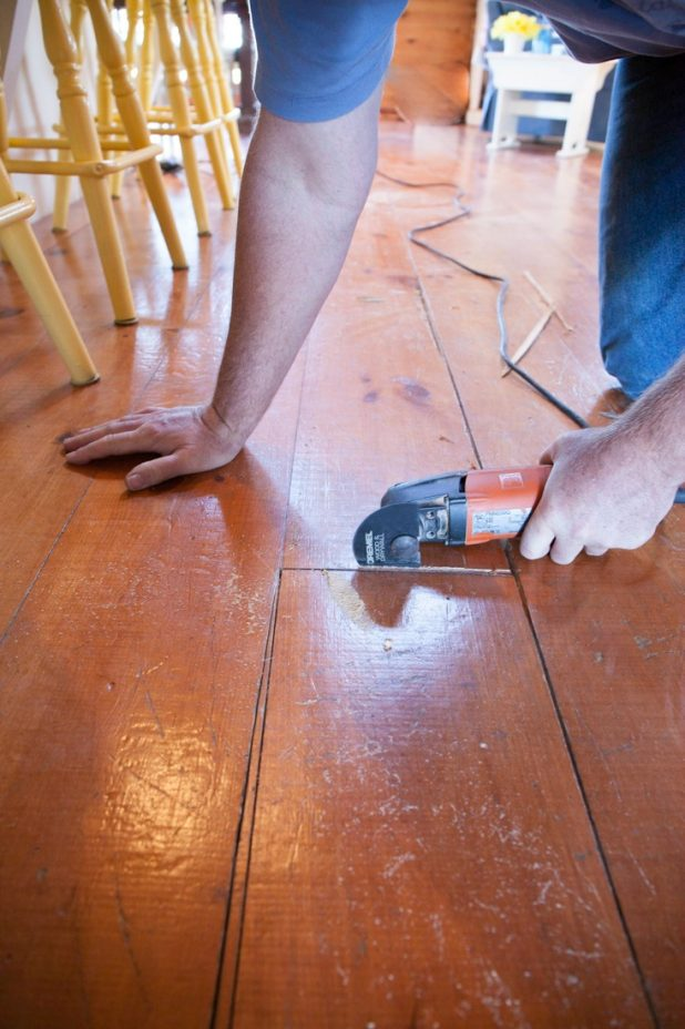 How To Remove One Floor Board From a Tongue and Groove Floor