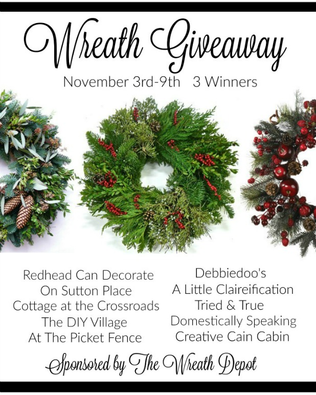 The Wreath Depot Giveaway November 3rd-9th 2015