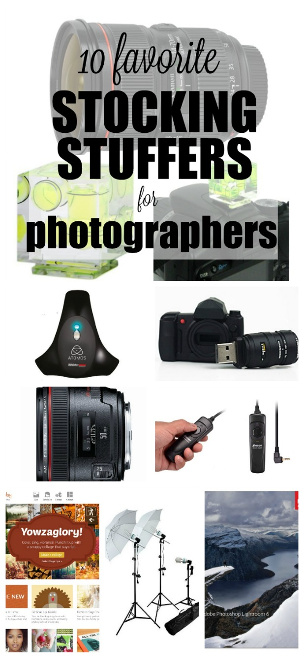 10 Favorite Stocking Stuffers for Photographers