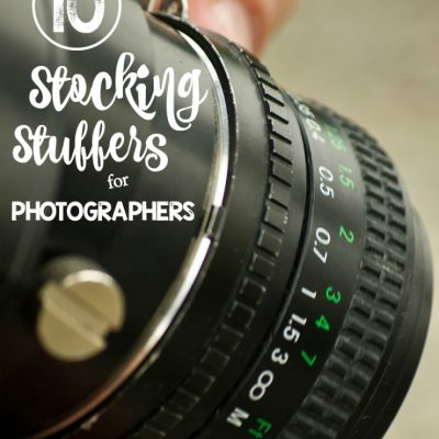 Stocking Stuffer Ideas for Photographers & Bloggers