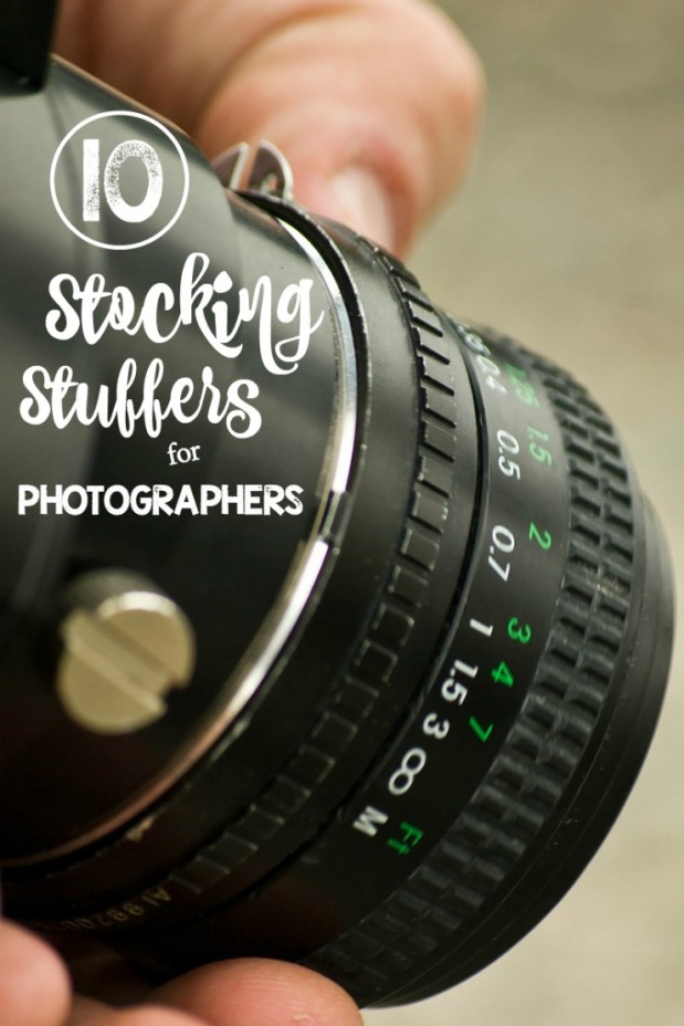 My 10 Favorite Stocking Stuffers for Photographers and Bloggers. I own and use all the items on the list. Listed in order of cost with links to each item.