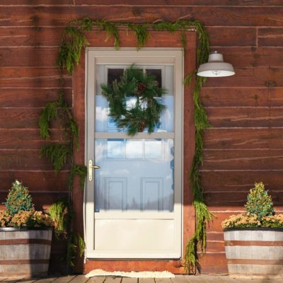 Rustic Cabin Natural Christmas Decor