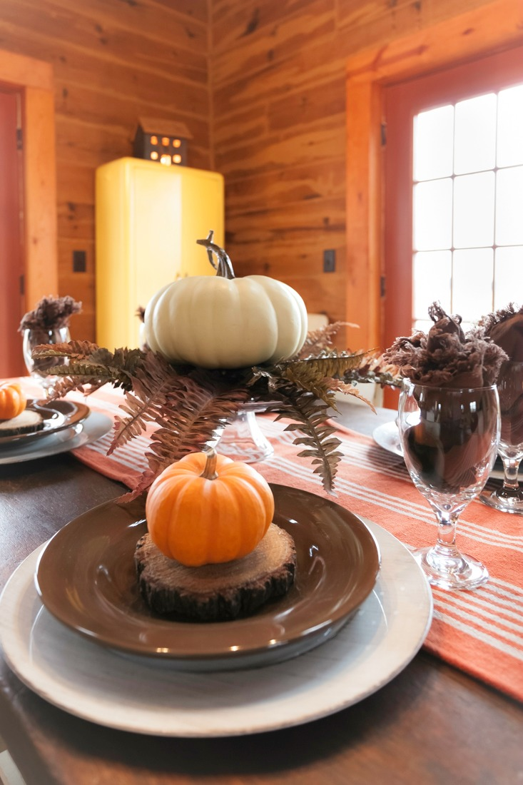 Rustic Thanksgiving Table