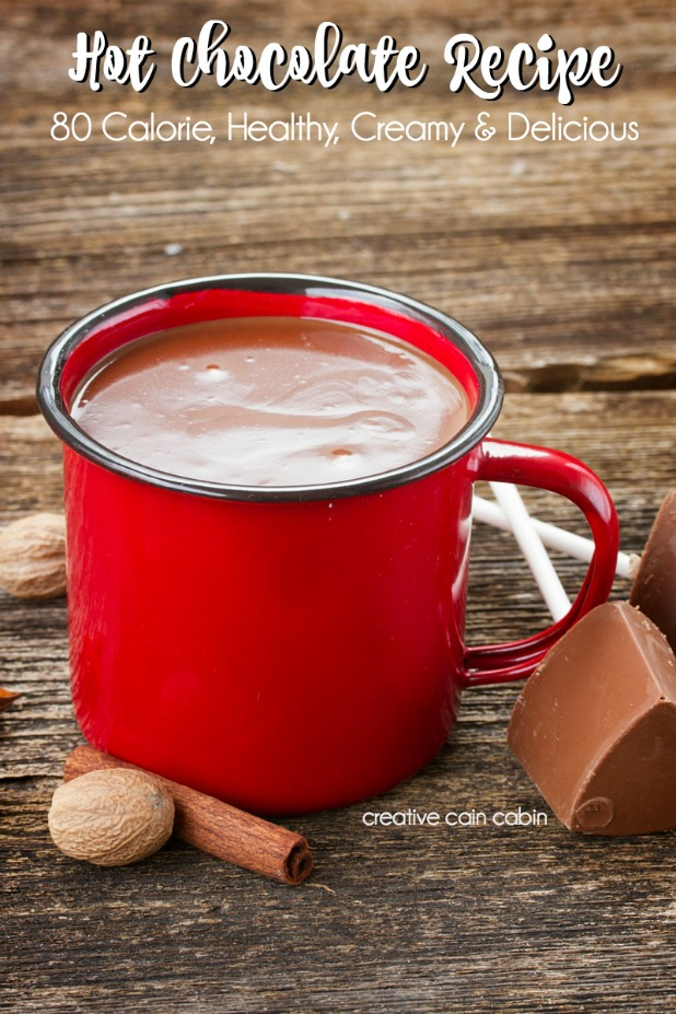 Hot Chocolate Recipe, Only 80 Calories, Tastes Great, Rich and Creamy