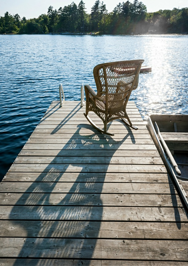 Chair on Dock