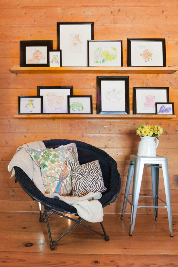 DIY Picture Shelf Tutorial