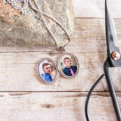 How to Print and Fit The Perfect Size Photo for a Locket