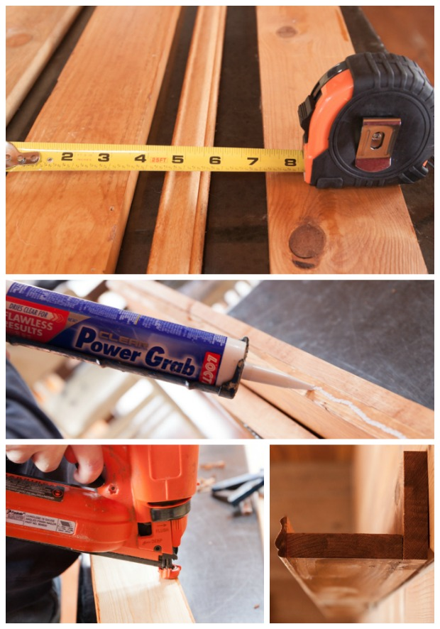 DIY Picture Shelf Tutorial