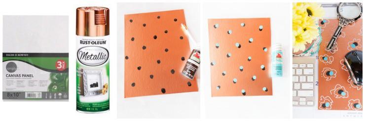 DIY Mouse Pad Steps