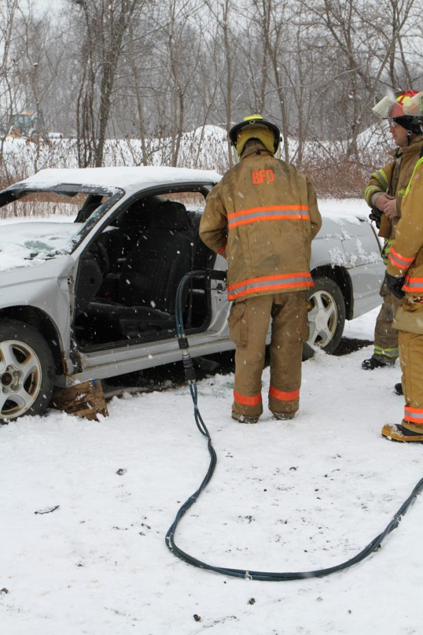 Firefighter Extrication, Search & Rescue Training