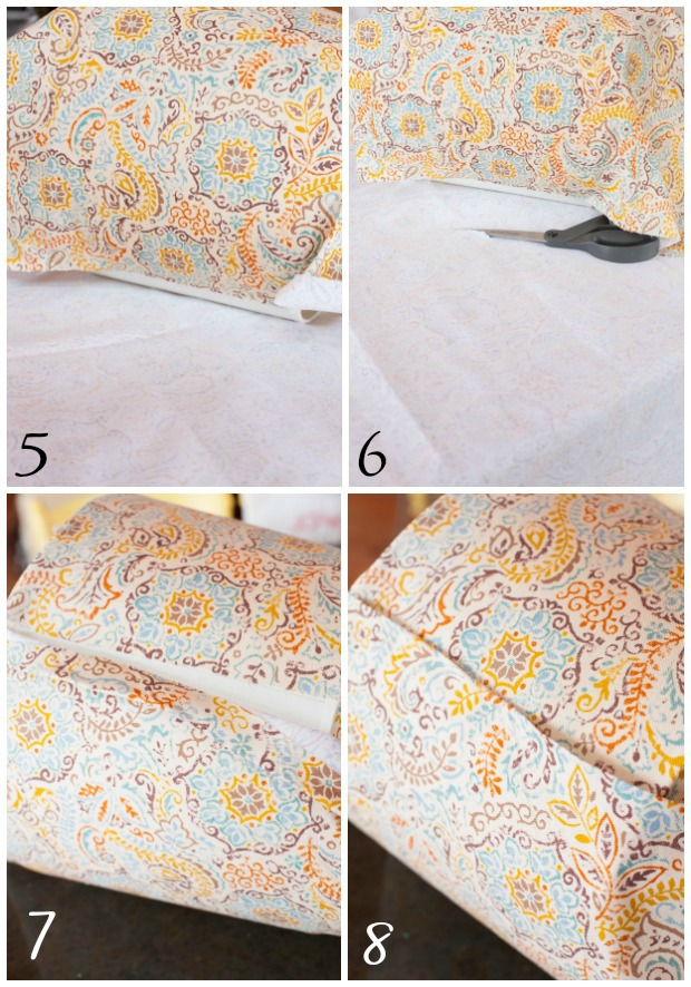 Step by Step Tutorial on How to Recover a Lampshade