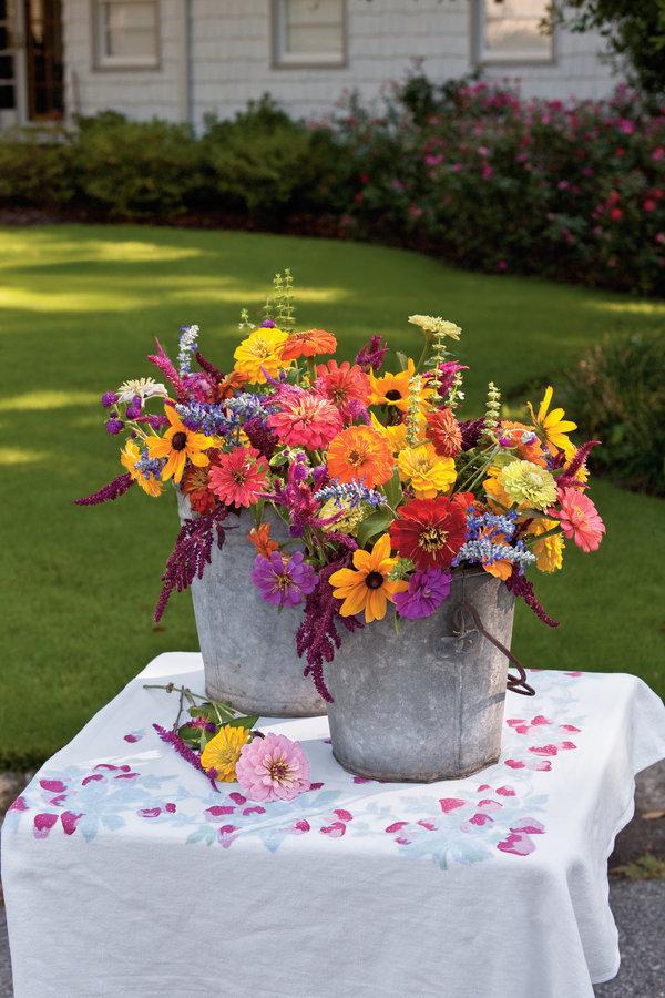 Cut Garden Flower Bouquet
