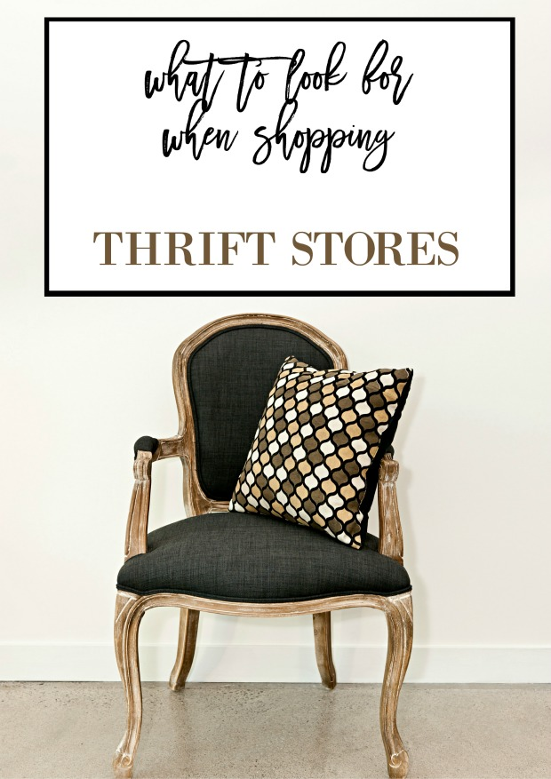 What To Look For And How to Use Thrift Store Items