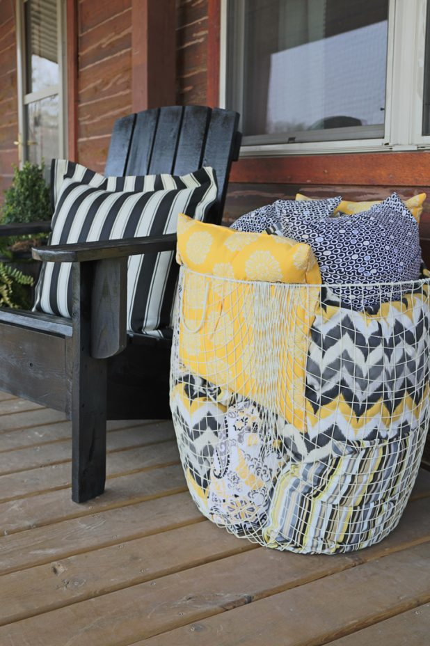 How To Keep Outdoor Cushions From Blowing Away