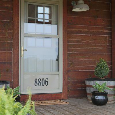 Vinyl House Numbers