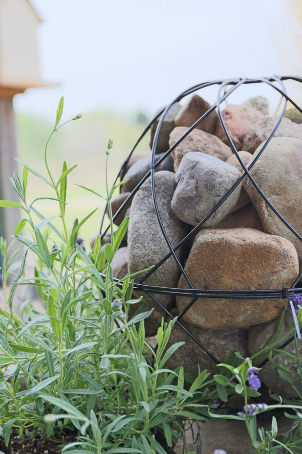 How to Make a Garden Orb Without Tools All You'll Need is 2 Wire Hanging Planters and 3 Zip Ties