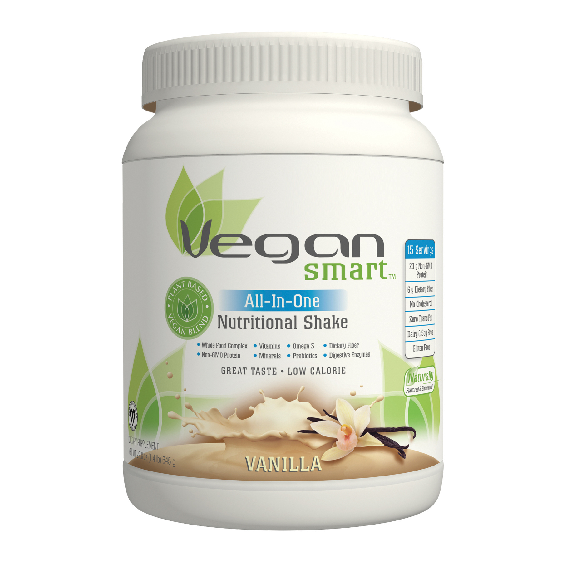 Vegan Smart Vanilla Protein Powder