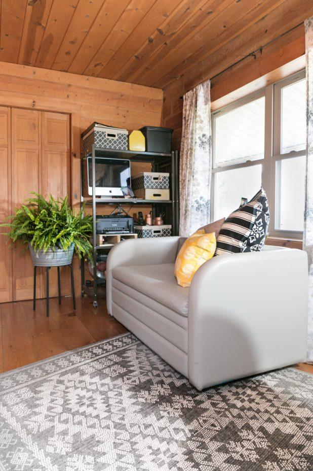 Gender Neutral Guest Bedroom & Home Office Combo