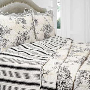 Ticking Stripe Bedding - CREATIVE CAIN CABIN : ticking quilt - Adamdwight.com