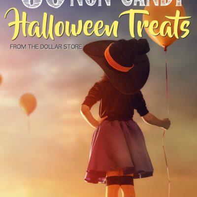 Non Candy Halloween Treats