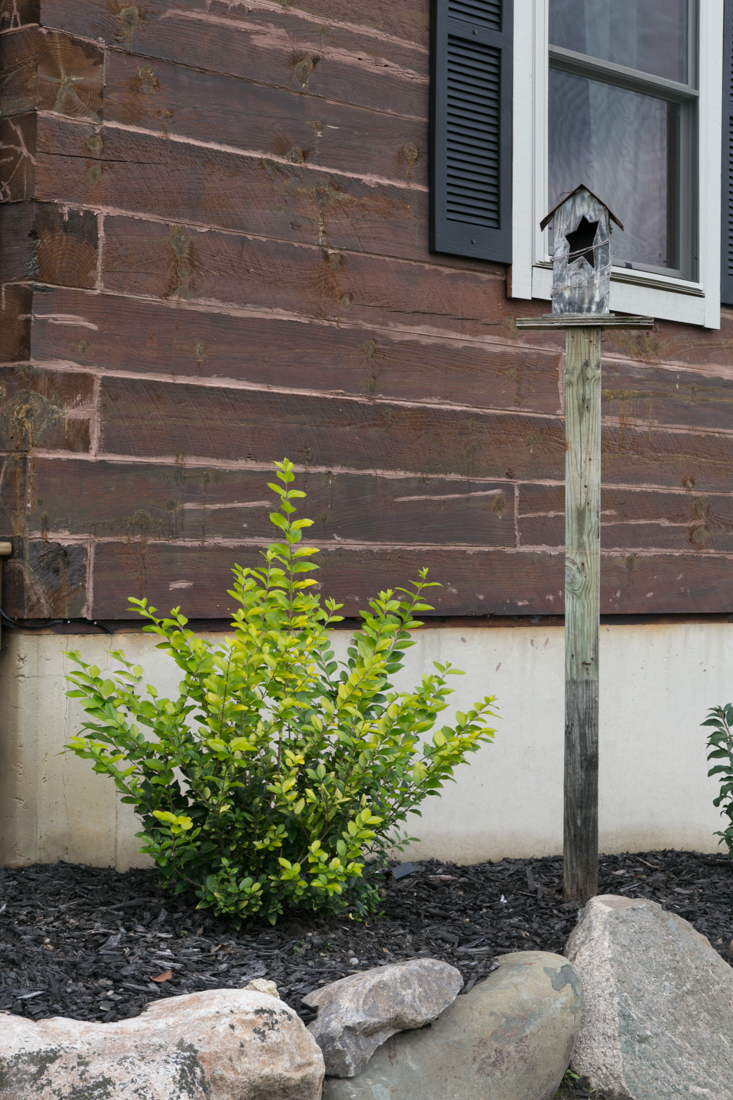 How To Add A Birdhouse On A Post To Your Landscape or Garden Design Without Post Hole Diggers