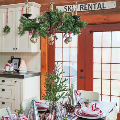 "DIY Winter ""Ski Rental"" Sign"