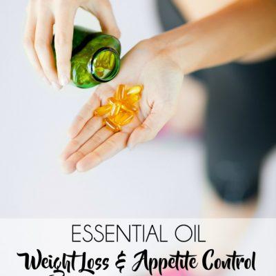 Essential Oil Weight Loss/Appetite Control Capsule Recipe
