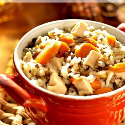 Panera Copycat Creamy Chicken & Wild Rice Soup Recipe