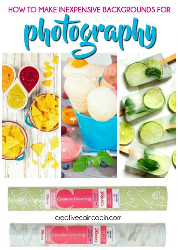 DIY Inexpensive Food Photography Background