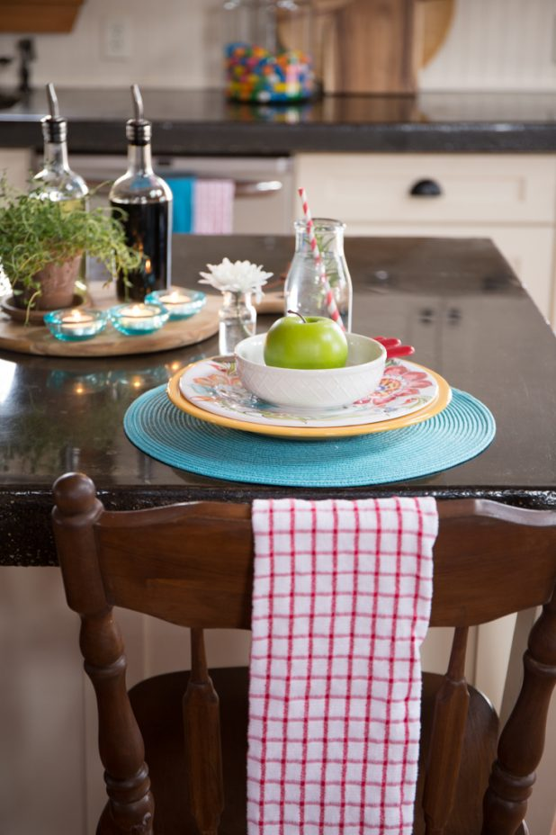 Eat in Kitchen Using the Island