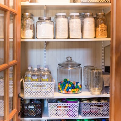 How I Organized The Pantry For $40