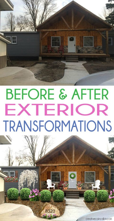 Send Me Your Photos Of The Exterior Of Your Home And Let Me Give It a Photoshop Makeover. Before & After Exterior Transformations