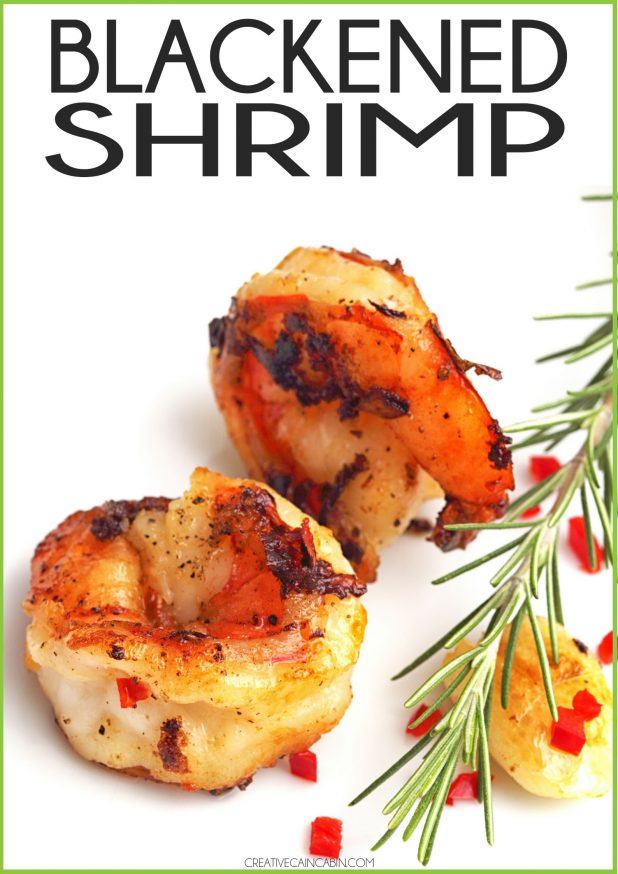 Blackened Shrimp Recipe Made In An AirFryer