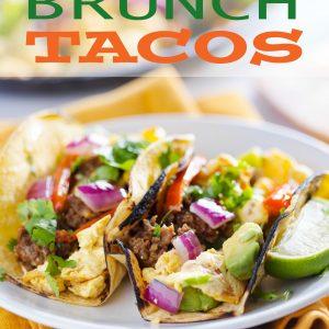 Mexican Brunch Tacos