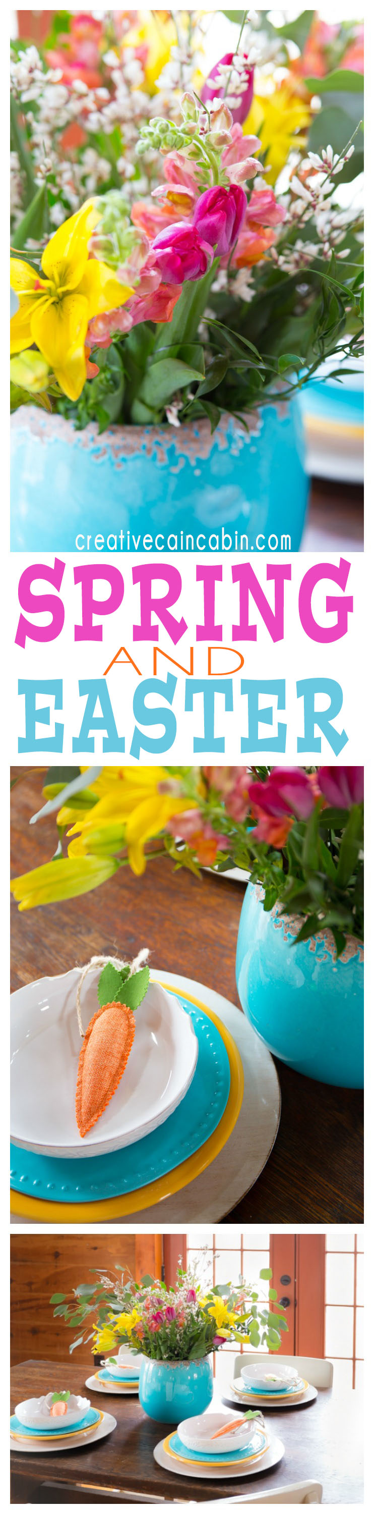 Beautiful Spring And Easter Centerpiece Ideas Using Grocery Store Flowers