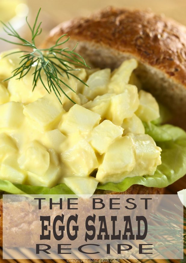 The Best Egg Salad Recipe You'll Ever Have. Easy To Make, With Ingredients You'll Have At Home