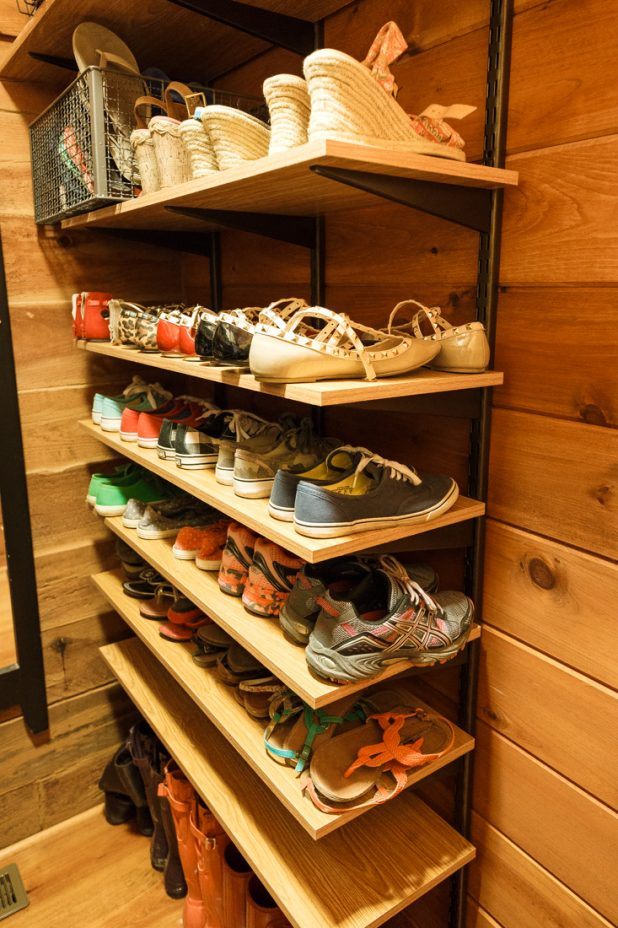 Shoe Room Spring Cleaning
