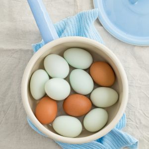 How To Get Farm Fresh Hard Boiled Eggs To Peel {The Secret You've Never Know}