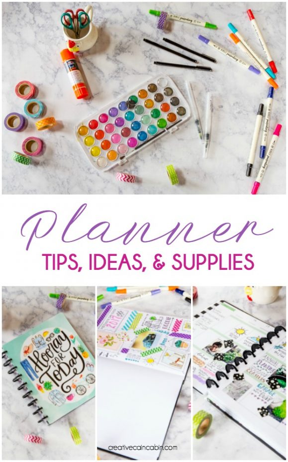 Tips, Ideas, and Supplies For Starting a Journal or Planner. What You'll Need To Get Started Without a Big Expense.