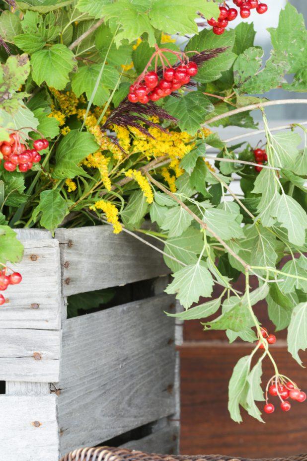 Natural Fall Foliage Arrangement