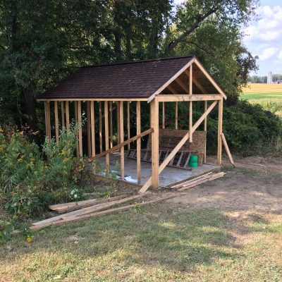 Storage Shed Build To Hold Adult Toys, Quads and Motorcycles