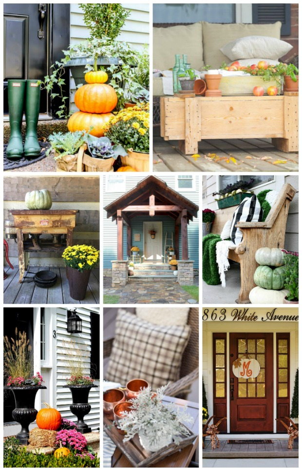 8 Stunning Rustic Fall Porch Tours, Get Ideas and Inspiration For Decorating Naturally This Fall