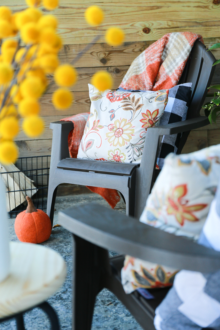 Outdoor Patio Furniture In a TV area