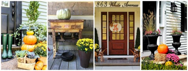 Rustic Fall Porch Tours