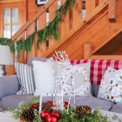 Christmas Coffee Table Tray