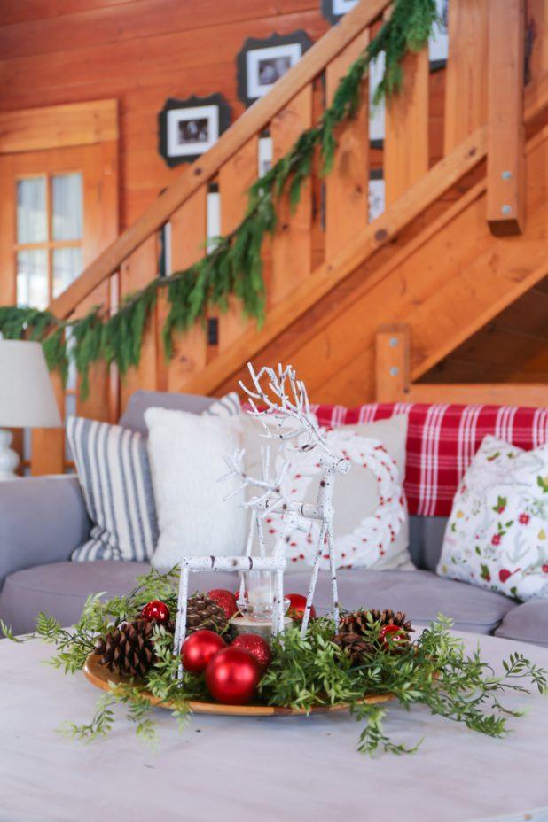 Rustic Log Home Living Room Tour